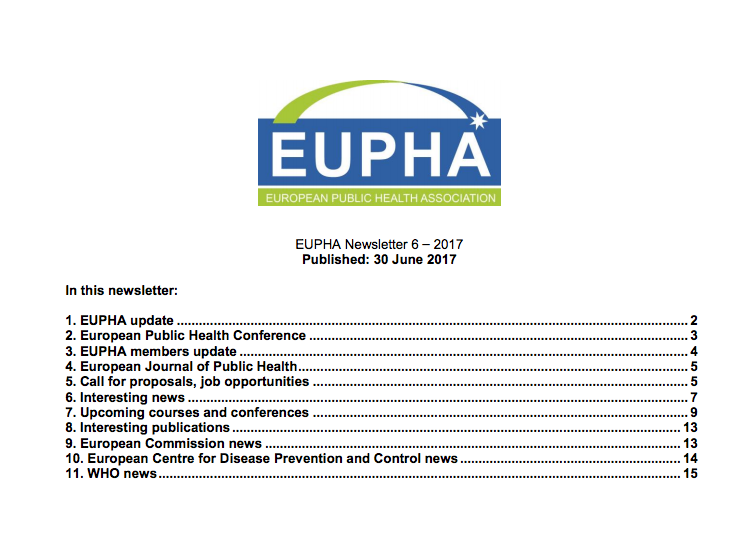 Eupha Newsletter June
