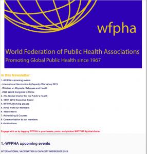 WPFHA Newletter Feb 2019